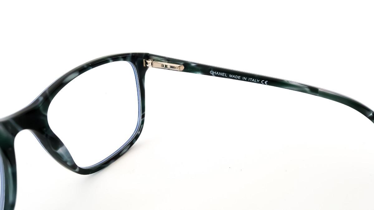Armação Óculos De Grau Feminino Chanel 3341 Acetato Luxo - R  120,00 ... e9d569db53