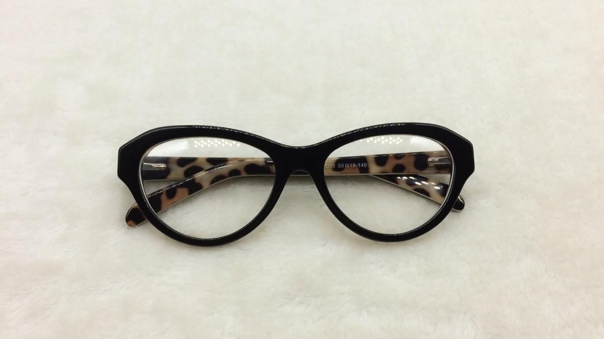 Armação Óculos De Grau Feminino Classic Redondo A013 - R  45,99 em ... 81df59bdd4