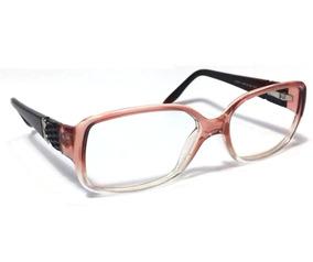 75a5093e2 Oculos De Grau Feminino Com Hastes Finas - Óculos Coral claro no ...