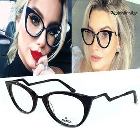6df167e10 Óculos Fendi Sunglasses 5292 466 Petroleum 57mm De Sol - Óculos no Mercado  Livre Brasil