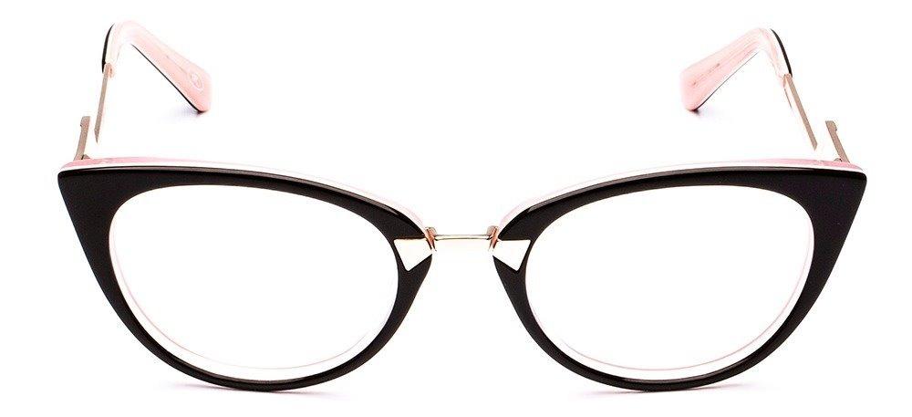 d440370596d10 armação oculos de grau feminino ff0118 gatinho lançamento. Carregando zoom.