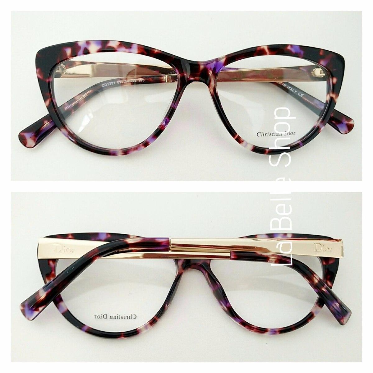 909412de465d8 armação óculos de grau feminino gatinha cd3291. Carregando zoom.