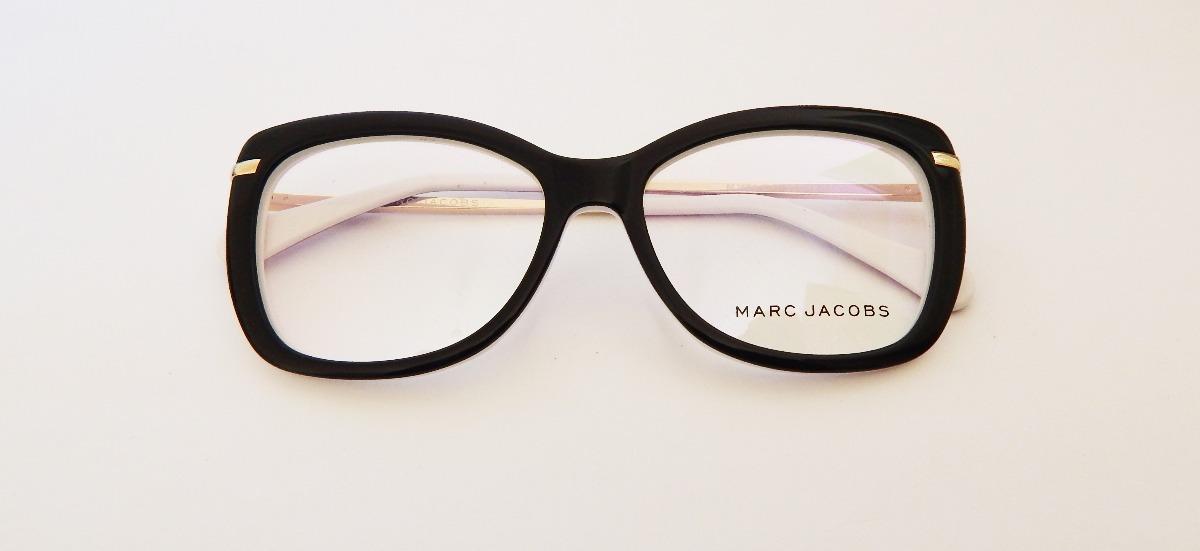 armação óculos de grau feminino gatinho marc jacobs original. Carregando  zoom. 731f4477ed