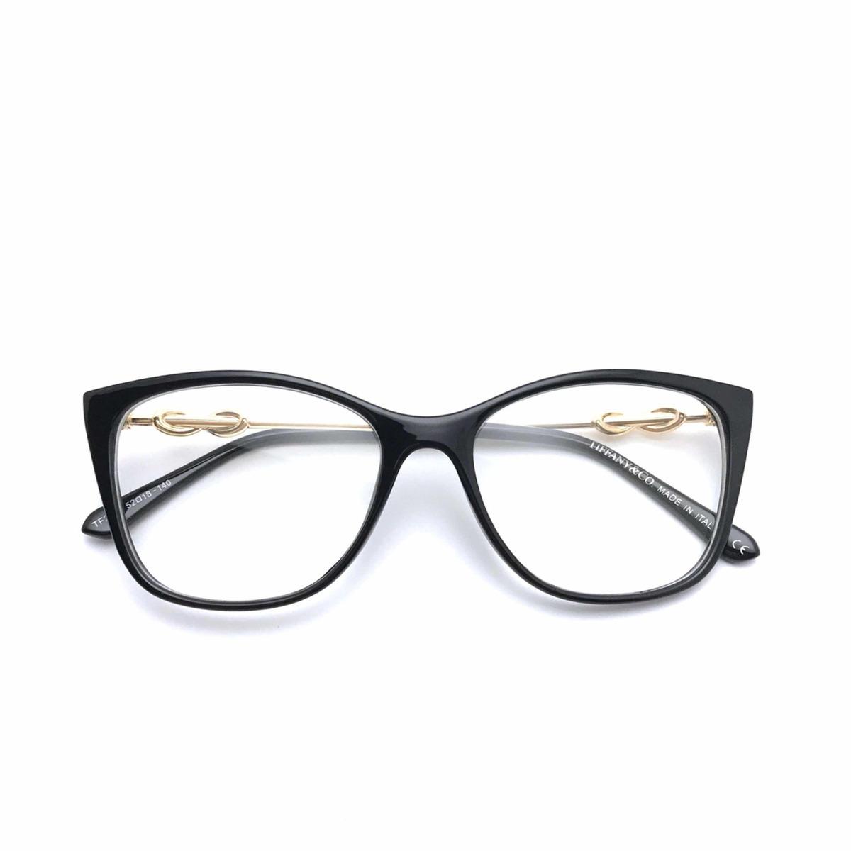 cee57f48c Armação Óculos De Grau Feminino Gatinho Preto - R$ 139,00 em Mercado ...