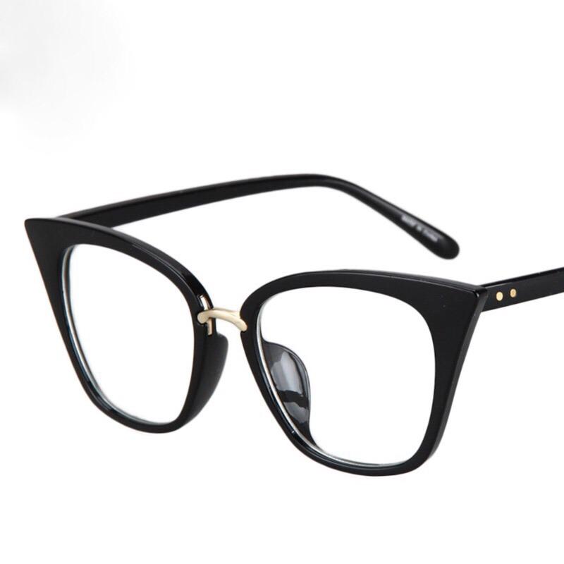 4b2ca6e07 armação óculos de grau feminino gatinho preto acetato. Carregando zoom.