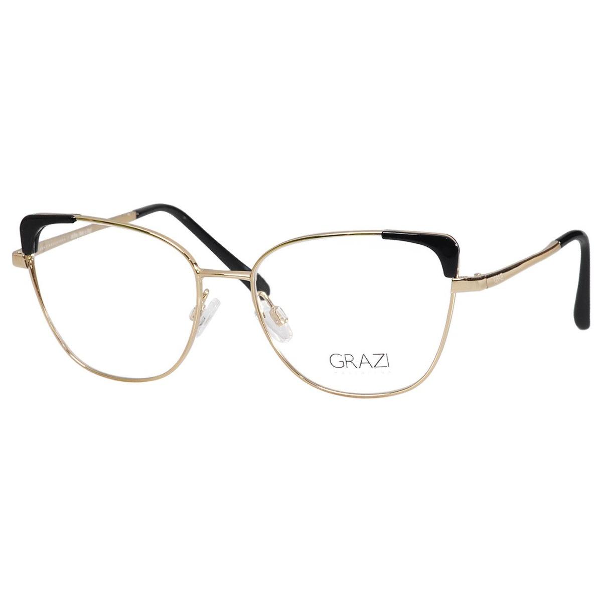 40af96bce Armação Óculos De Grau Feminino Grazi Massafera Gz1013 F920 - R$ 224 ...