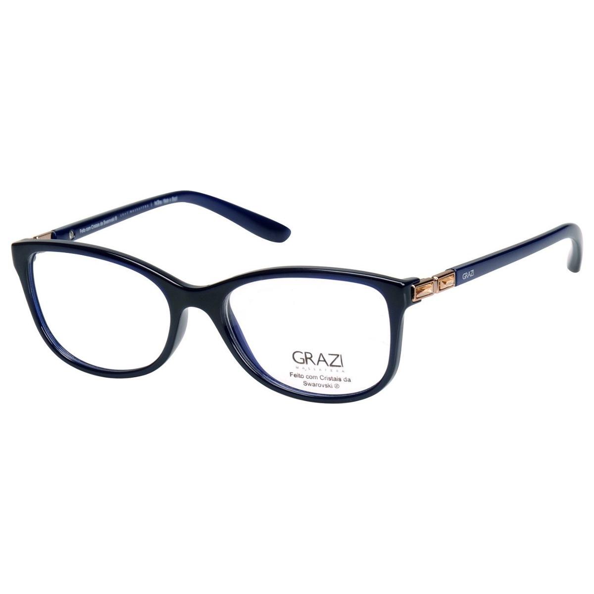 104abb2c2423c armação óculos de grau feminino grazi massafera gz3032b e803. Carregando  zoom.