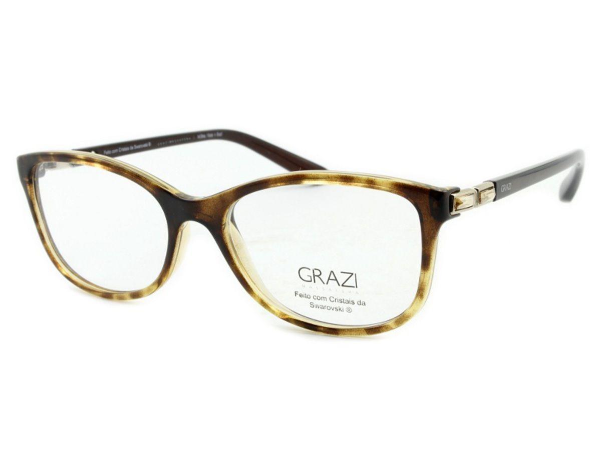 b28e82715 armação óculos de grau feminino grazi massafera gz3032b e804. Carregando  zoom.