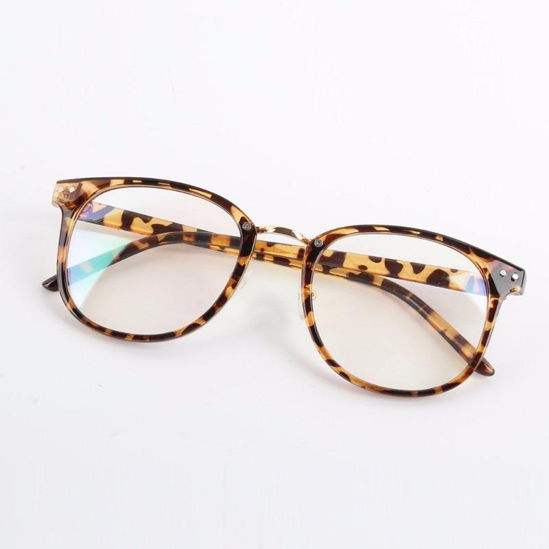 bd1d13f6a92eb armação óculos de grau feminino leopardo grande. Carregando zoom.