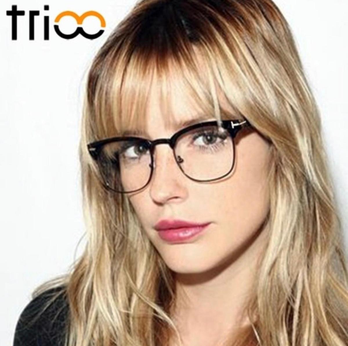 20f2781a92001 armação óculos de grau feminino masculino moderno preto. Carregando zoom.