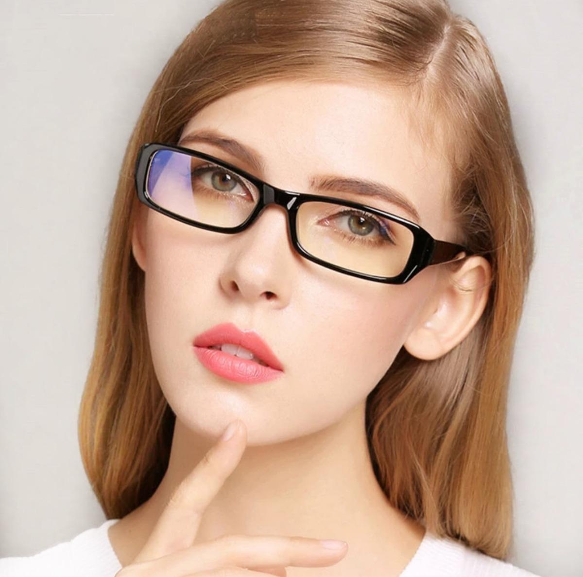 5ff3045d0ad7e Armação Óculos De Grau Feminino Masculino Pequeno Preto - R  57