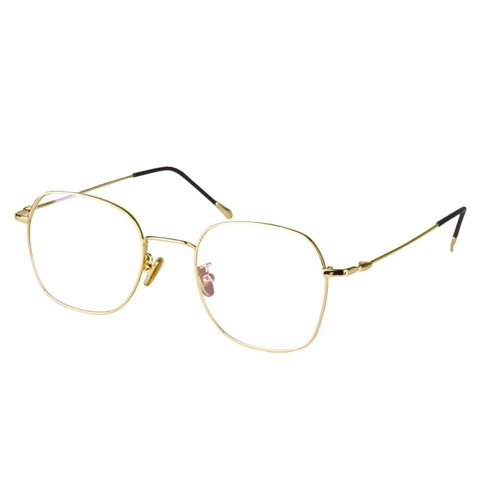 7a8557e9bdb93 armação óculos de grau feminino metal dourado 285. Carregando zoom.