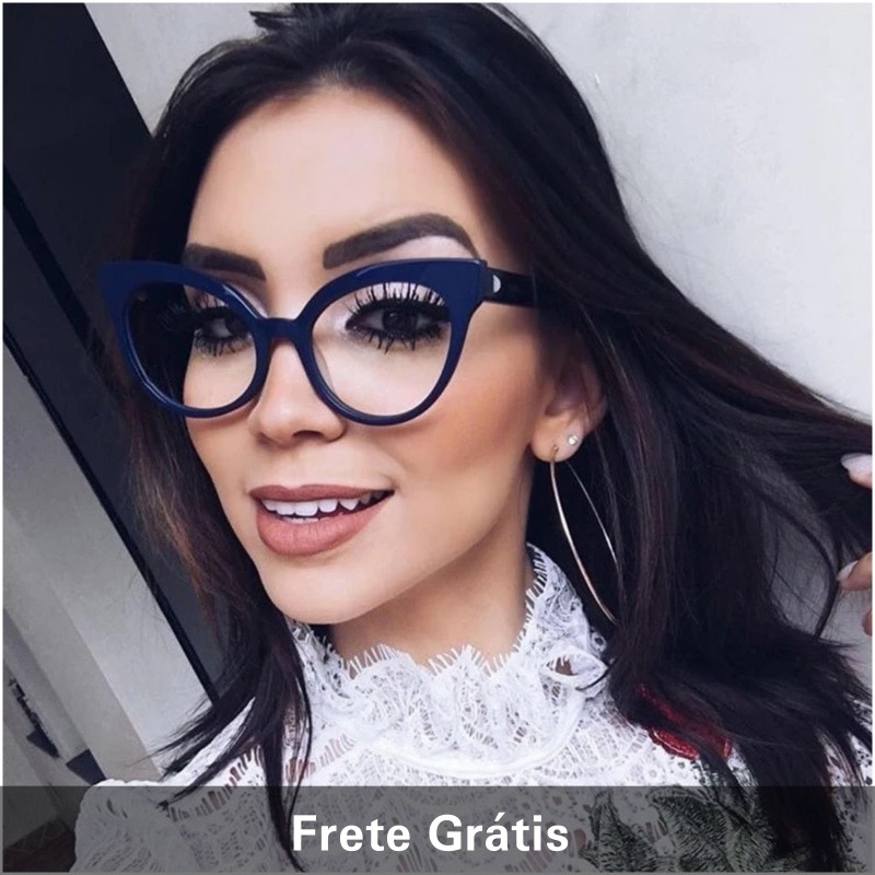 139424ebd armação óculos de grau feminino olho de gato promoção!!!!!!! Carregando zoom .