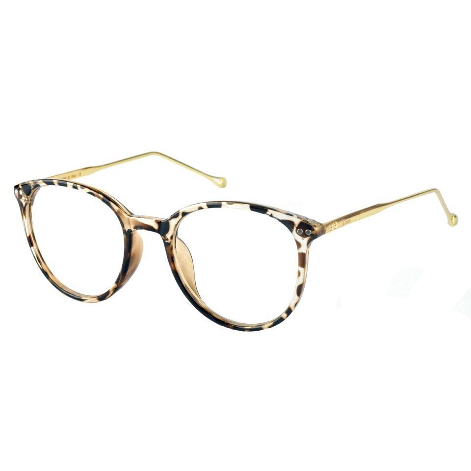 92ebf49929fb5 armação óculos de grau feminino onça transparente retro 006. Carregando  zoom.