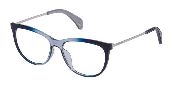 3f5f83eac319c Armação Óculos De Grau Feminino Police Siren Vpl 625 - Od36 - R  590 ...