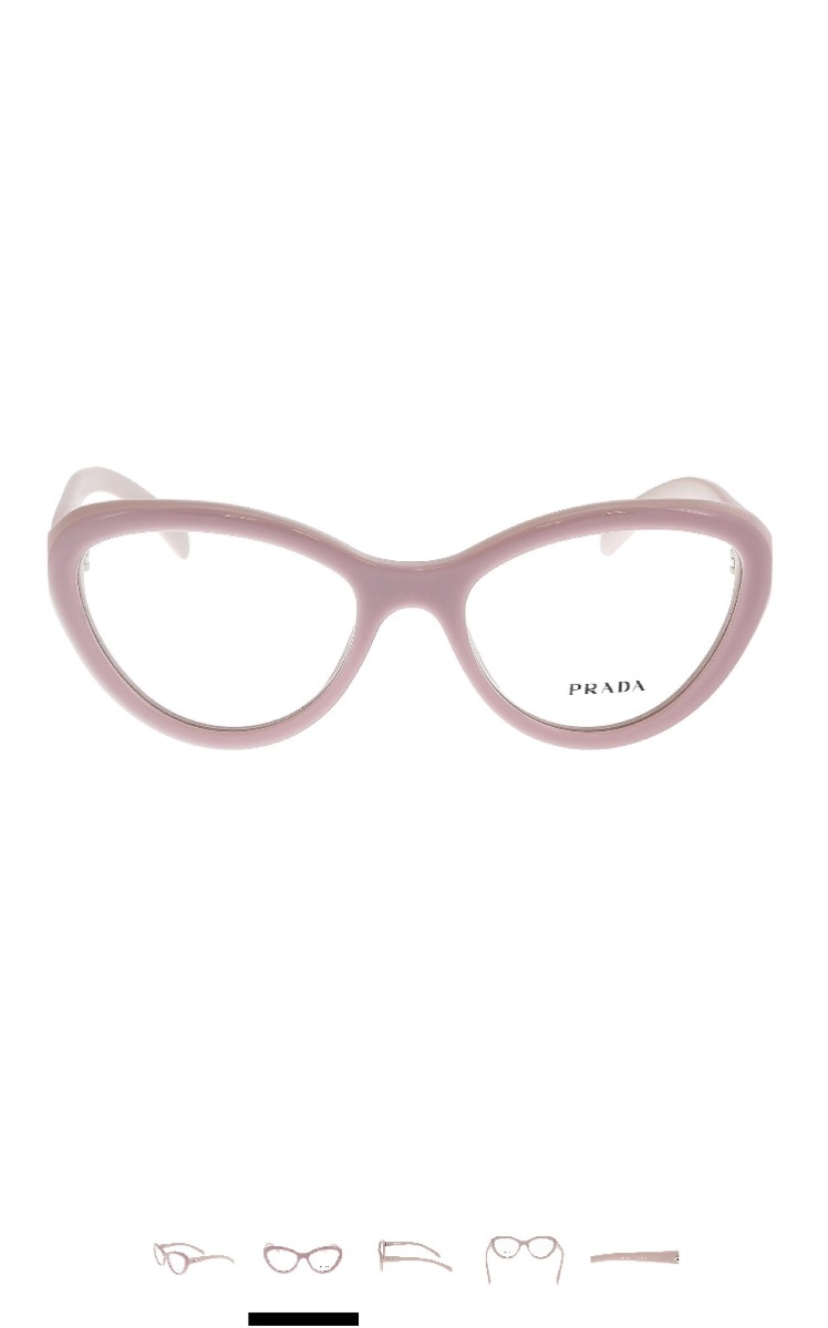 454112372c405 armação óculos de grau feminino prada luxo 100% original. Carregando zoom.