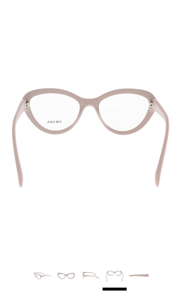 0f80380d3cbd0 armação óculos de grau feminino prada luxo 100% original. Carregando zoom.