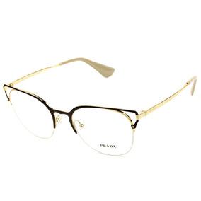 3b46cca30 Óculos De Grau Prada Vpr21q no Mercado Livre Brasil