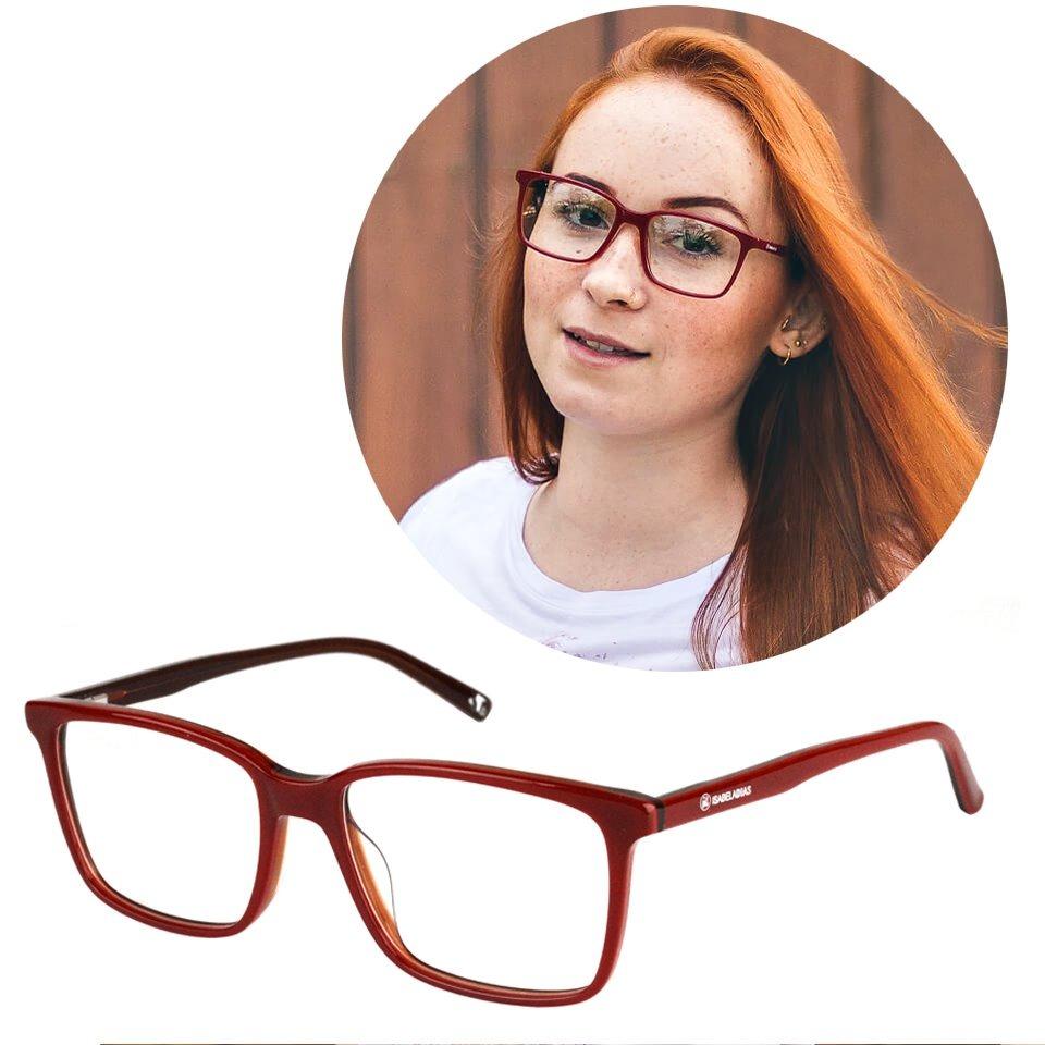 bef257b4e armação óculos de grau feminino quadrado grande isabela 3366. Carregando  zoom.