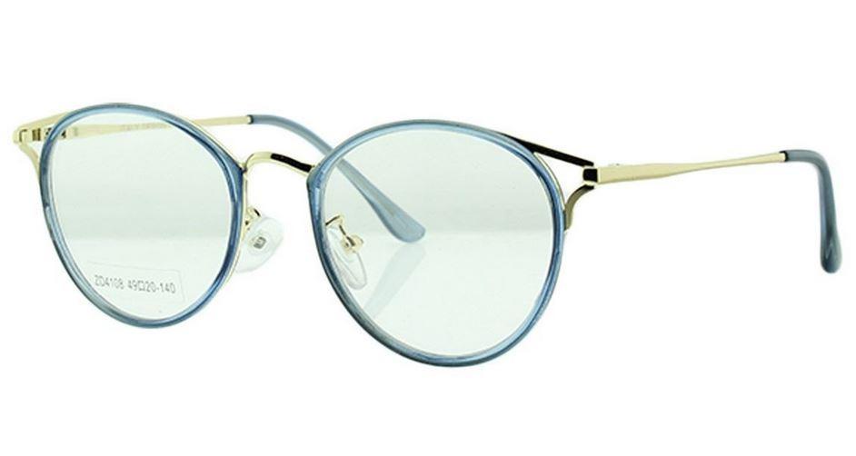 587d1dca0 armação óculos de grau feminino redondo retrô vintage metal. Carregando  zoom.