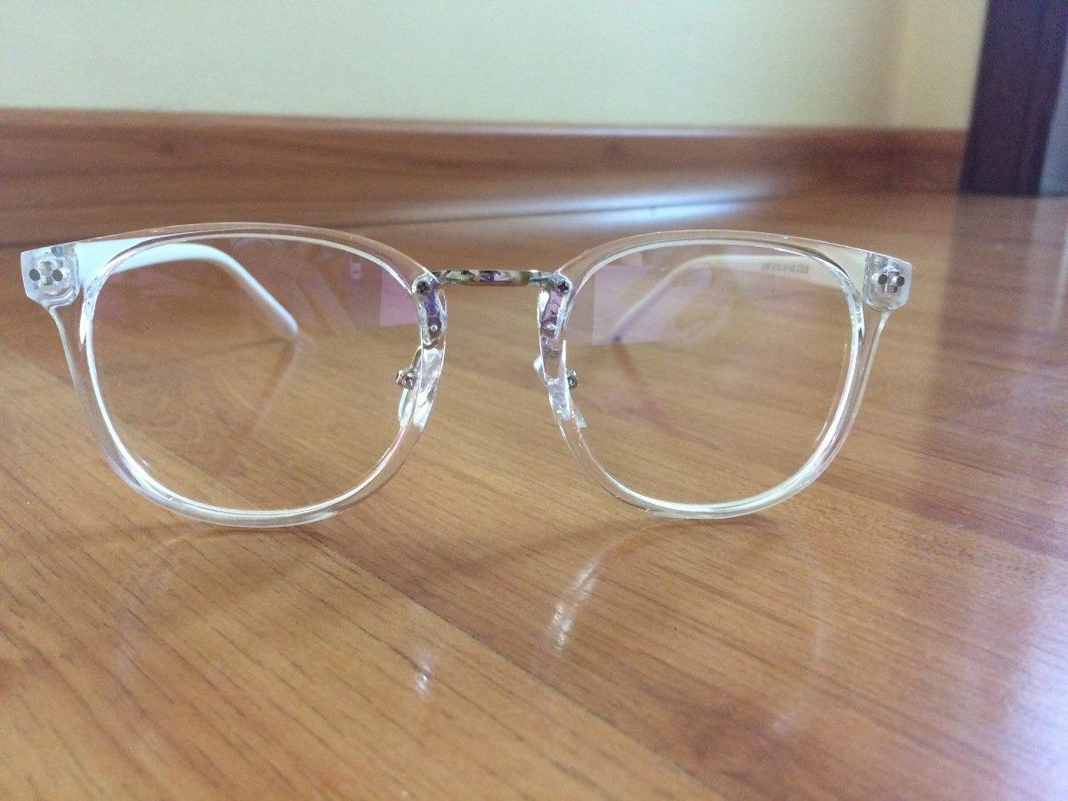04b5430bc Armação Óculos De Grau Feminino Transparente - R$ 97,90 em Mercado Livre