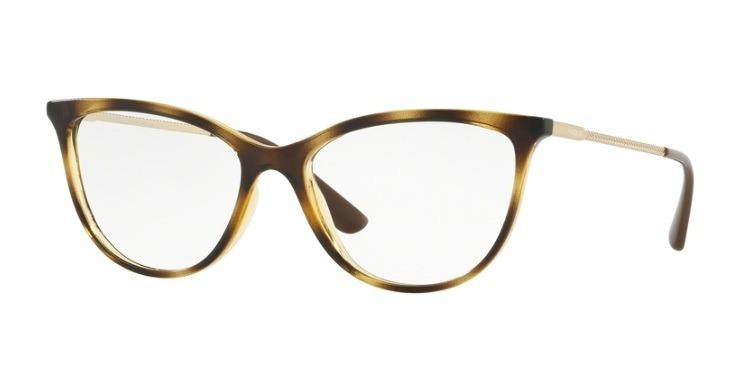 d03cbfebc2f49 Armação Óculos De Grau Feminino Vogue Vo 5239l W656 Original - R  299,00 em  Mercado Livre