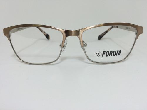 6b1034ee0 Armação Óculos De Grau Forum F6003e0553 - R$ 278,00 em Mercado Livre