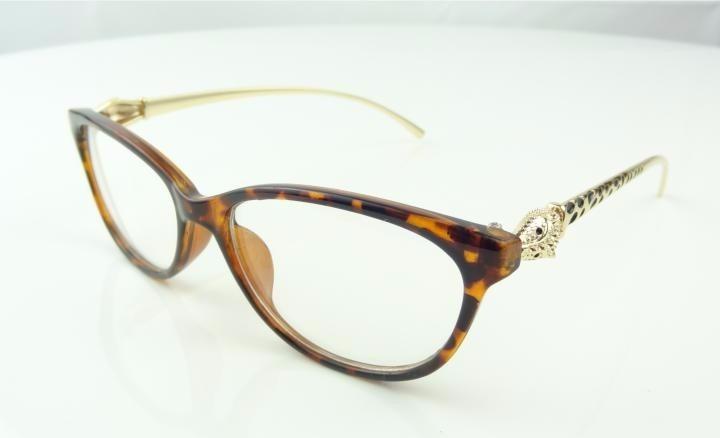 30e74aa4b Armação Oculos De Grau Gatinha Oncinha Onça Dourada - A777 - R$ 79 ...