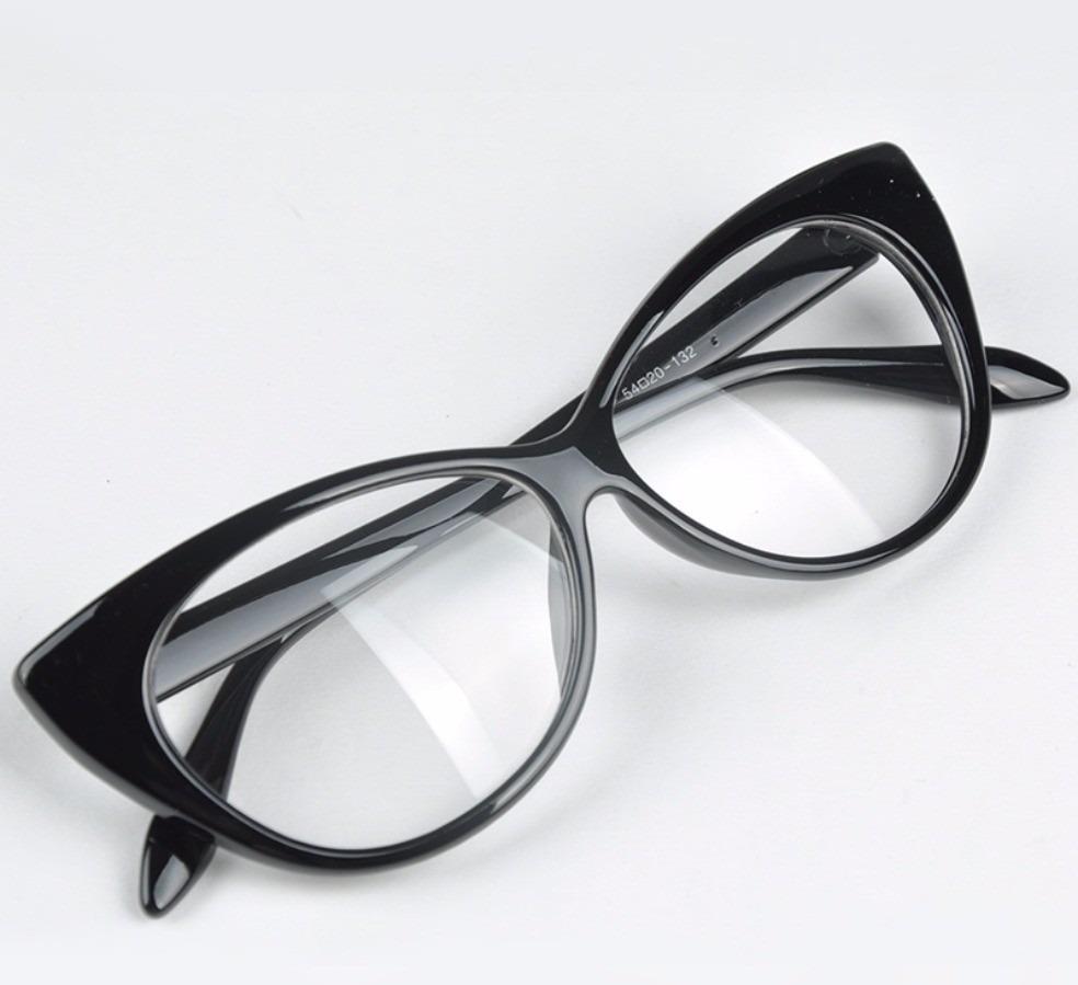 Armação Óculos De Grau Gatinho Blogueira Retro Vintage - R  29,90 em ... 34e48c9a36