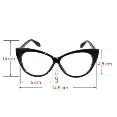 Armação Óculos De Grau - Gatinho Cat Retrô Vintage Fashion - R  29 ... 62b8090d84