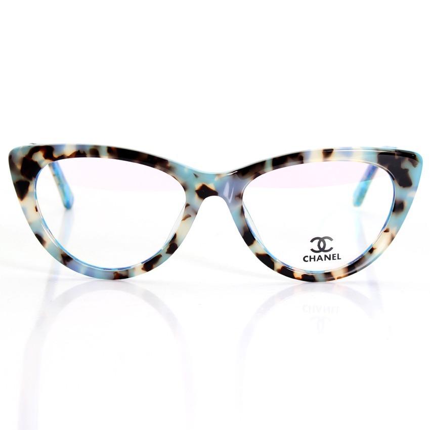 eaa46e588 Armação Oculos De Grau Gatinho Ch3389 Acetato - R$ 120,00 em Mercado ...