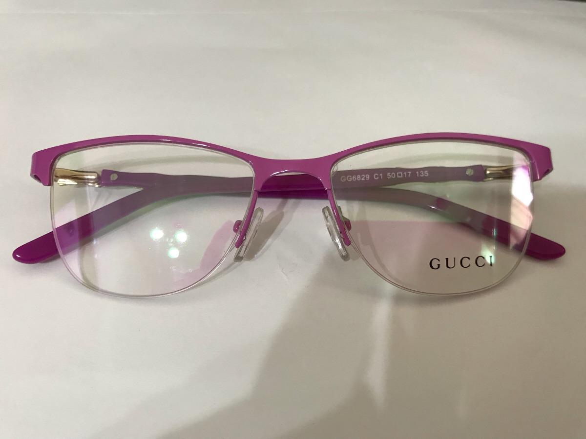 6246559652593 ... Armação Óculos De Grau Gucci Fio De Nylon Gatinho - R 250,00 em .