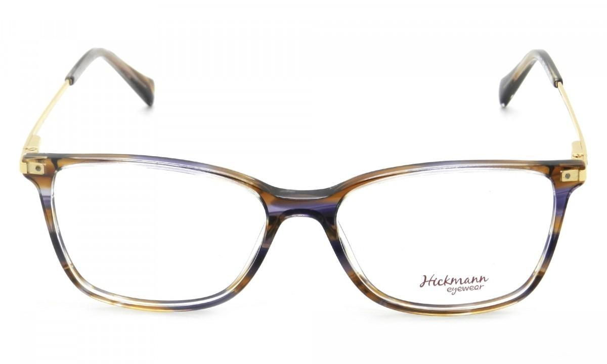 0b1016b47c41c Armação Óculos De Grau Hickmann Feminino Hi6117 E02 - R  399,00 em ...