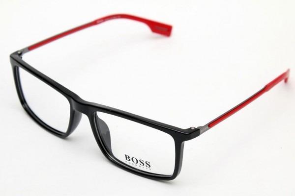 Armação Óculos De Grau Hugo Boss 0419 Leve Titanio 54 17 140 - R ... 27a2616d14