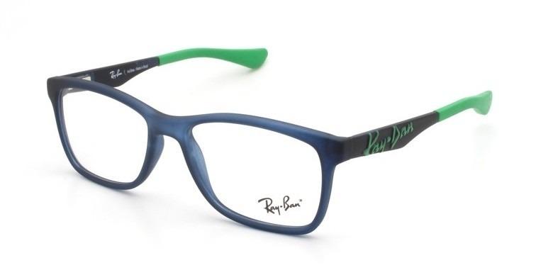 79548ae27 Armação Óculos De Grau Infantil Ray-ban Rb 1556l 3688 - R$ 279,00 em ...