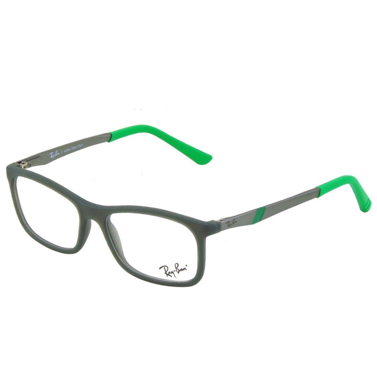887805c507f90 Armação Óculos De Grau Infantil Ray-ban Rb1538l 3683 - R  279