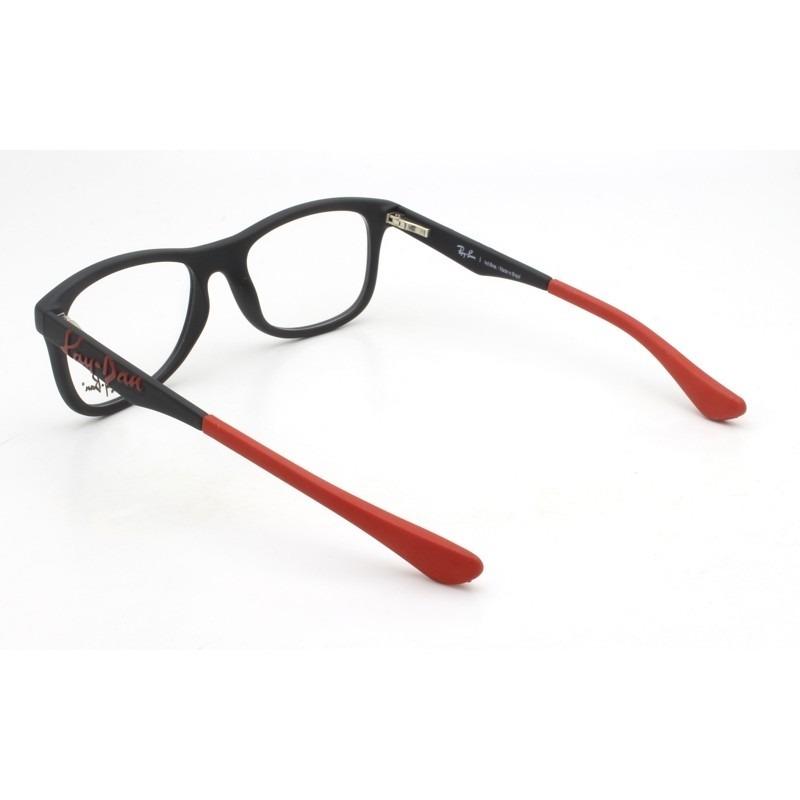 00a993fbb Armação Óculos De Grau Infantil Ray-ban Rb1551l 3603 - R$ 279,00 em ...