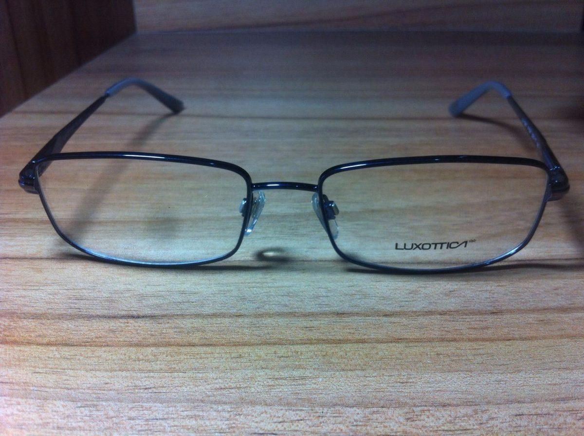 91f07c555 armação óculos de grau - luxottica original 1361. Carregando zoom.