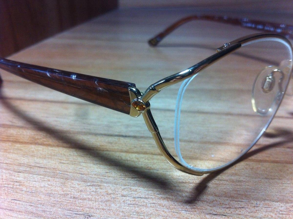 7a9c23a0a armação óculos de grau - luxottica original 2301. Carregando zoom.