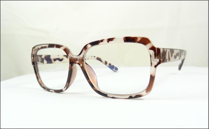 Armação Óculos De Grau Marrom Tartaruga Grande Quadrada A511 - R  59 ... 4f65f77c94