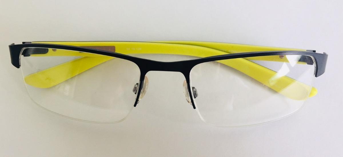 armação óculos de grau masculina quiksilver fender preta top. Carregando  zoom. a343e7be0e