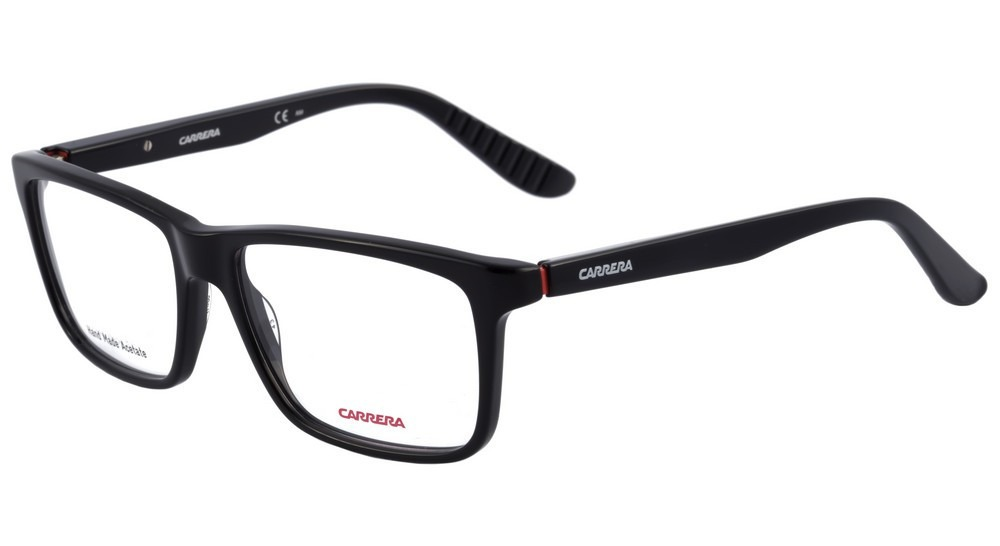 cb3e9b1d6 armação óculos de grau masculino - carrera ca8801 - preto. Carregando zoom.