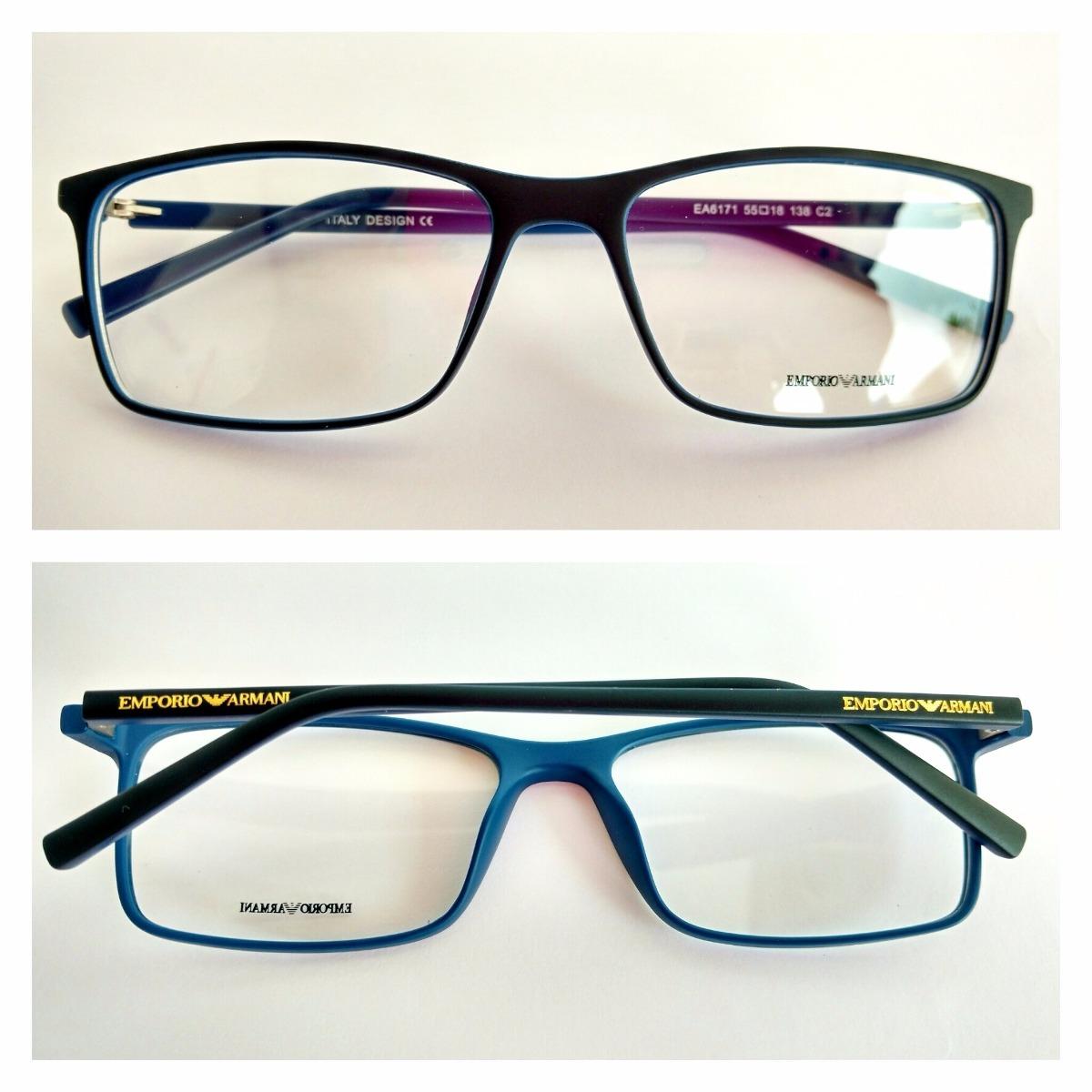 bee796874d184 armação óculos de grau masculino ea6171. Carregando zoom.