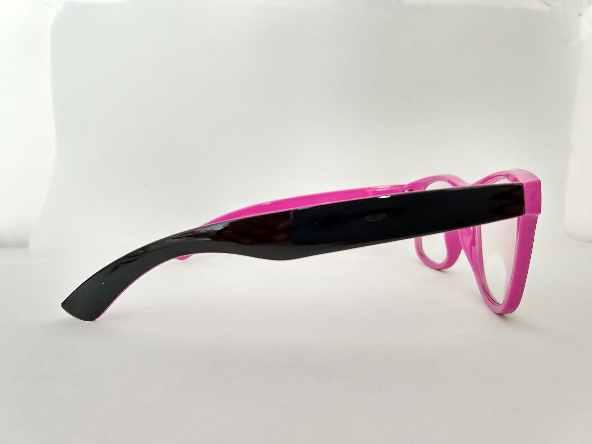 11e37c877cdb6 armação oculos de grau masculino feminino geek preto rosa. Carregando zoom.