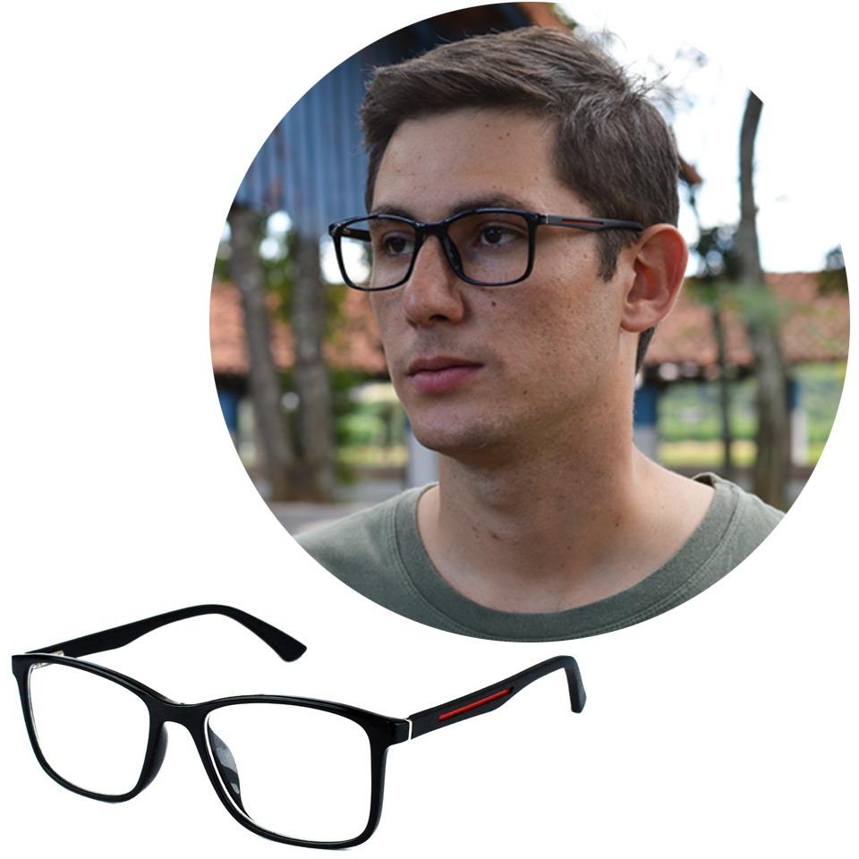 8dc5f9ed0 armação óculos de grau masculino isabela dias acetato 50010. Carregando zoom .