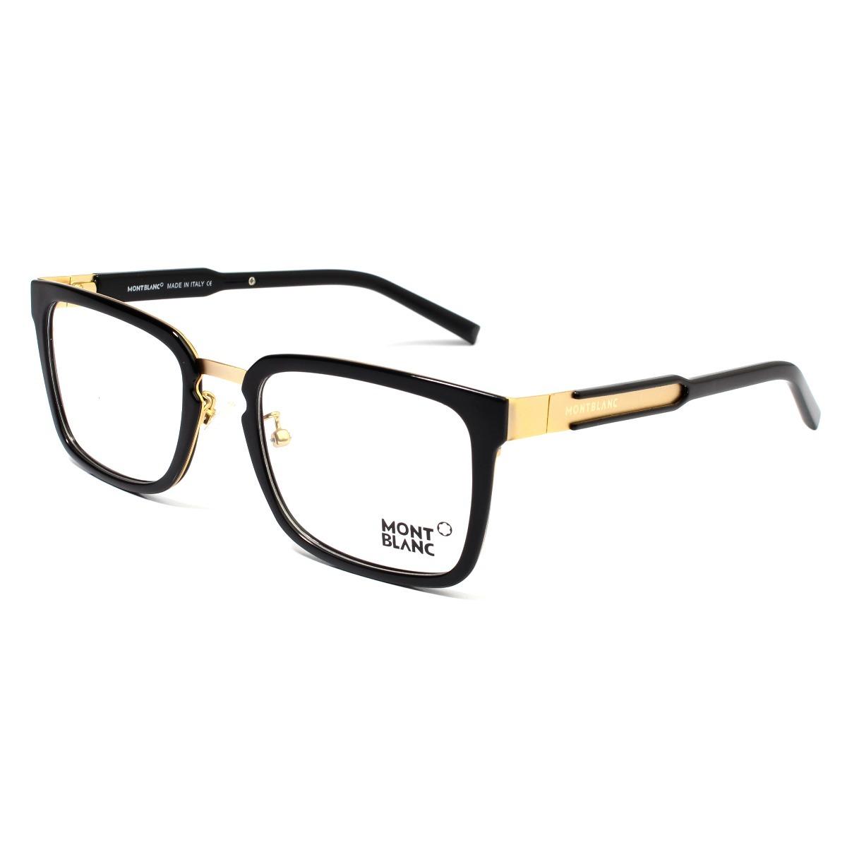 8cfa106a700ab armação óculos de grau masculino mont blanc mb0612 acetato. Carregando zoom.