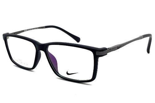 d1f3cfaa69293 Armação Oculos De Grau Masculino Nike Nk83 Black Tr90 - R  120