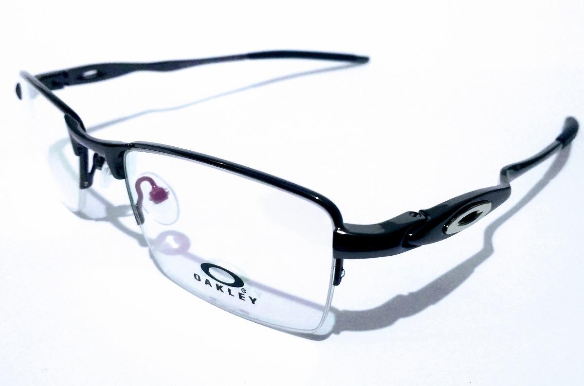 armação óculos de grau masculino ox11-828 grafite metal. Carregando zoom. af2e533987