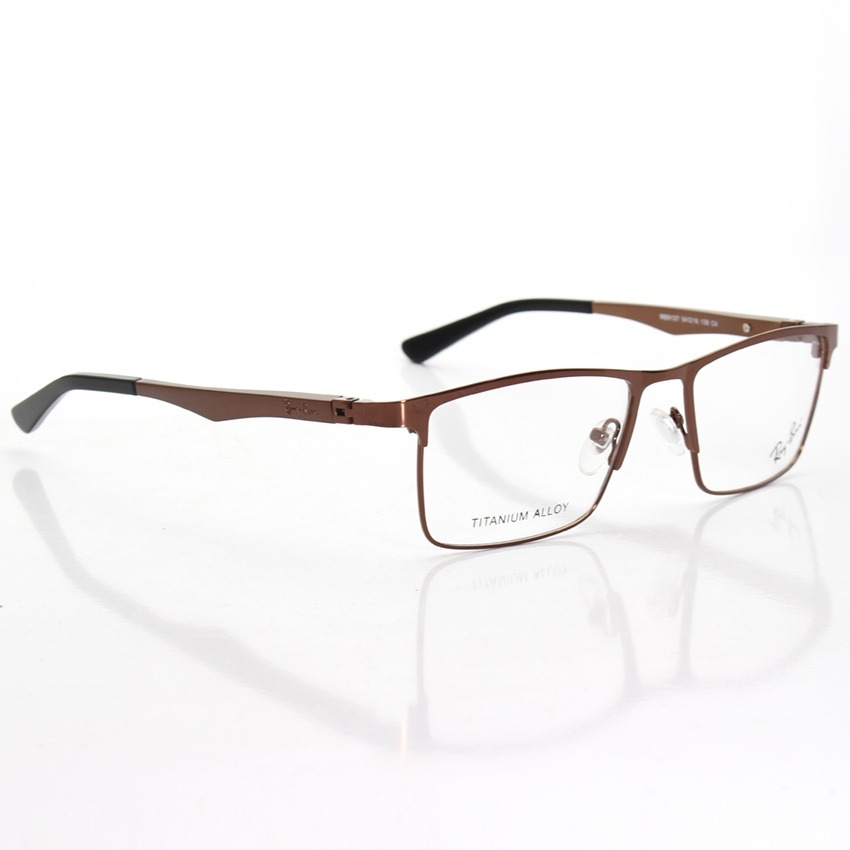 95aa1efc6dbb4 armação óculos de grau masculino rayban jc7052 metal. Carregando zoom.