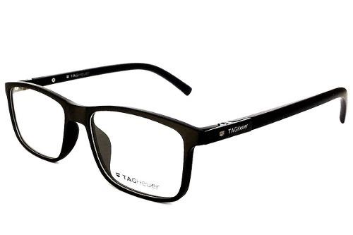 Armação Oculos De Grau Masculino Tag Heuer Acetato Premium - R  127 ... 1d9c32f893